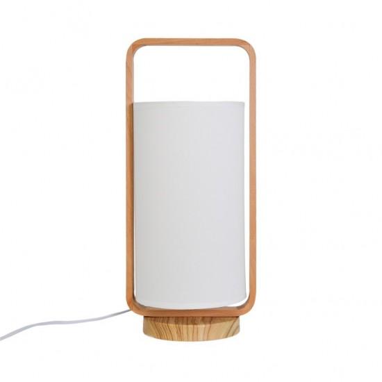 Lampe Nippon D15xh45cm Rose
