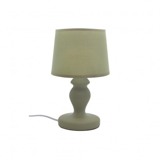 Lampe À Poser Céramique Mat 4 Couleurs D15xH30cm