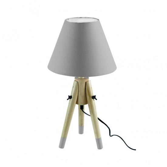 Lampe À Poser Scandinave 4 Couleurs H50cm BLEU