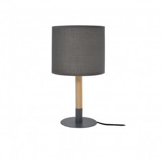Lampe À Poser Ø14xH34cm 3 Couleurs BLANC