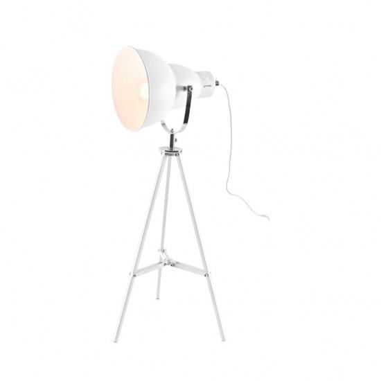 Lampe À Poser 26x26xH65cm  GRIS