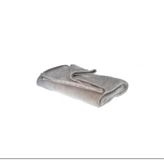 Plaid Douceur 150x200 cm GRIS