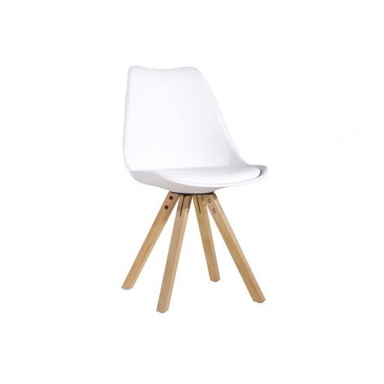 mega chaise en pp empilable 48x48x81cm vert